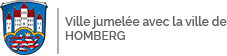 logo de la ville jumelée Homberg